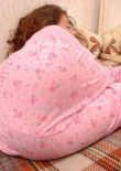 Sleeping Teen Jessica In Pyjamas - Picture 4