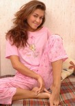 Sleeping Teen Jessica In Pyjamas - Picture 8